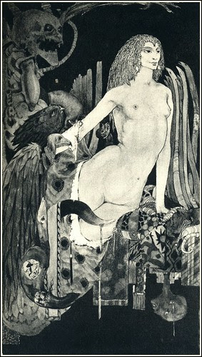 Harry Clarke, Swinburne, Faustine