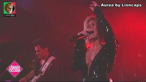 Aurea sensual no The Voice