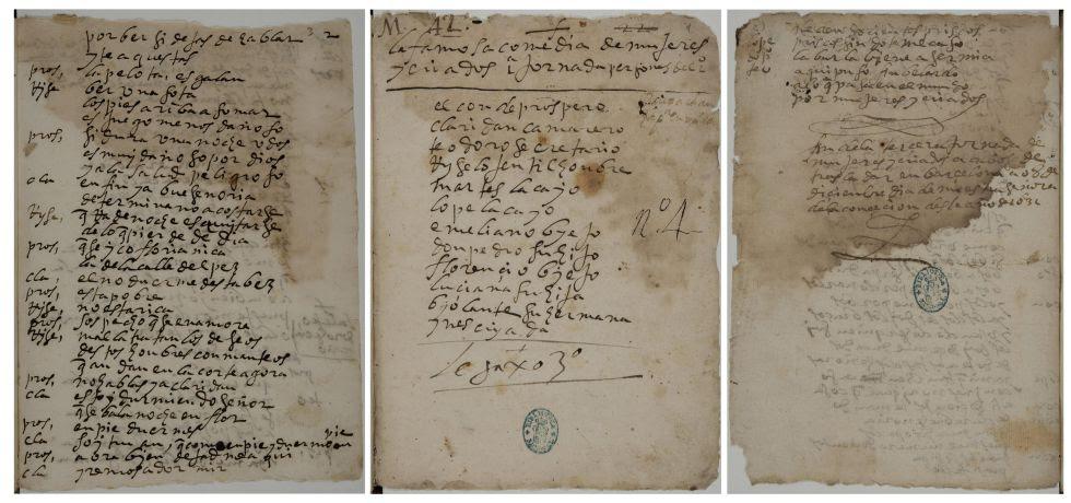 """Manuscrito de """"Mujeres y criados"""",de Lope, """"rescatado"""" en la BNE mediante análisis de bases de datos"""