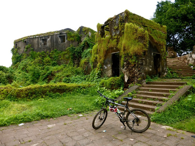 Sion Fort - ruins at top of hill