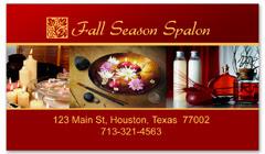 BCS-1091 - salon business card