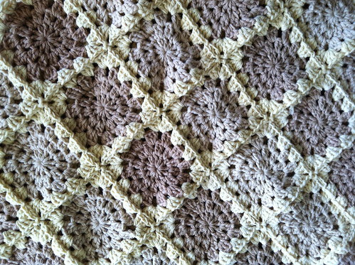 Closeup on the Blanket