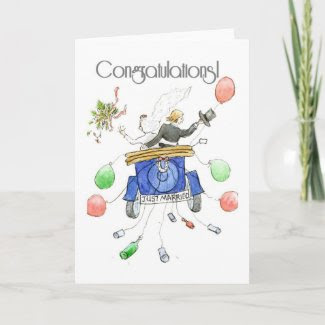 Wedding Congratulations Card card