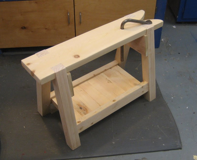 Sawbench Complete | A Learning Adventure in the Workshop