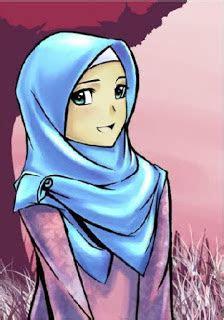 foto kartun muslimah blog dian alm ii