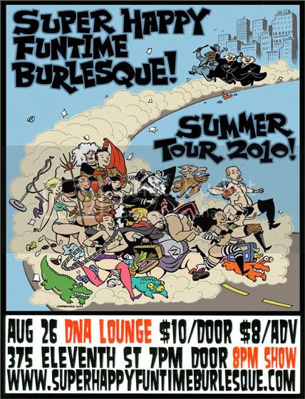Super Happy Funtime flier, August 26, 2010