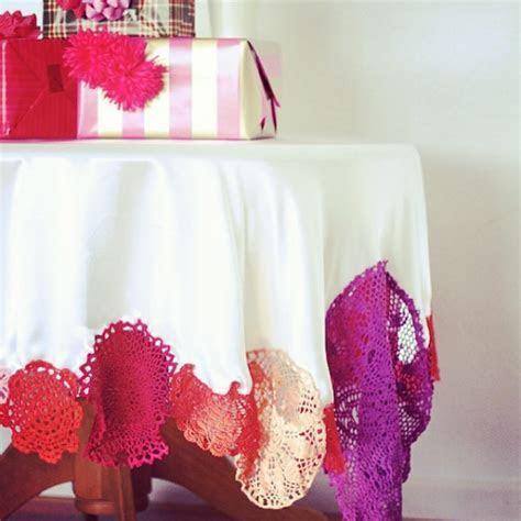 Colorful Crochet Tablecloth ? A Subtle Revelry