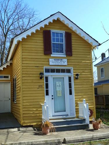 Historic Post Office in Stevensville Maryland Circa 1877 - 1951 by litlesam
