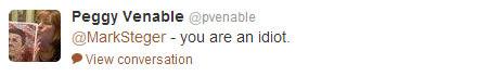 Peggy Venable tweet