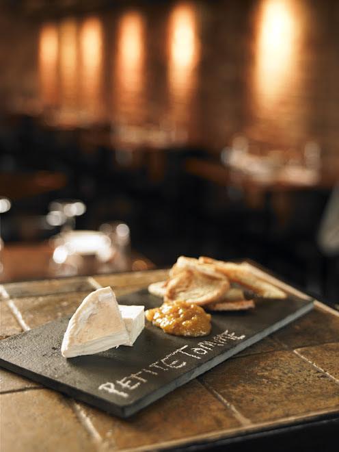A BT cheese plate
