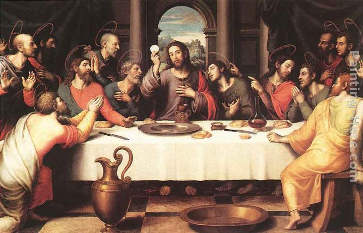 Juan De Juanes The Last Supper Painting Anysize 50 Off The Last