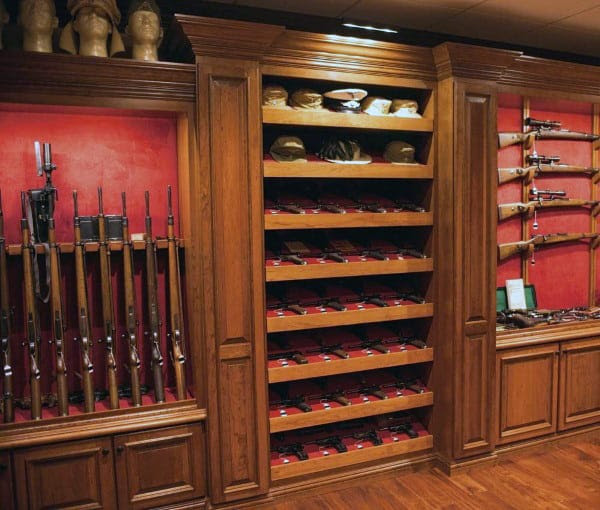 Top 100 Best Gun Room Designs - Armories You'll Want To ...