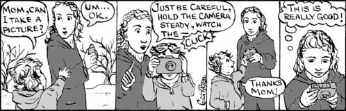 Home Spun comic strip #203