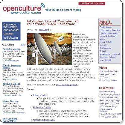 http://www.oculture.com/2008/03/youtubesmartvideos.html