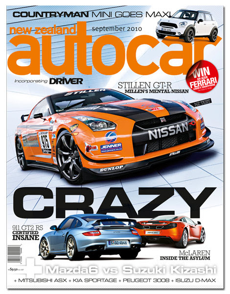 Autocar New Zealand ; STILLEN R35 Nissan GT-R