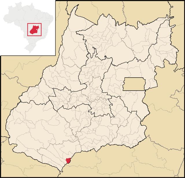 Localização de São Simão