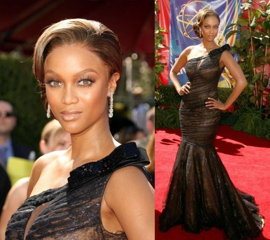 Tyra Banks Awards: From Buenos Aires: Old Red Carpet: Tyra Banks, Emmys Award