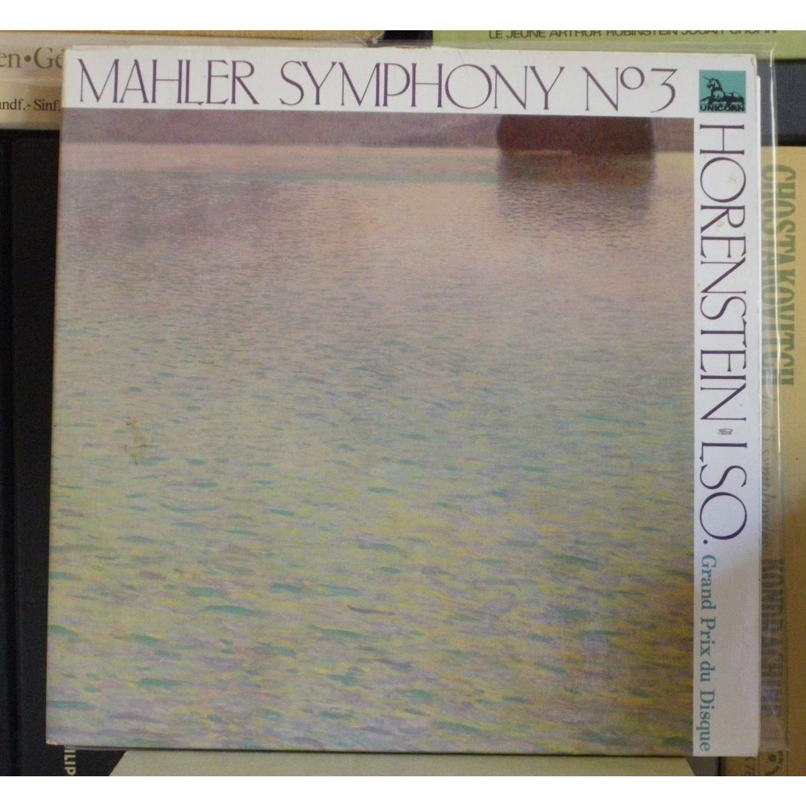 Mahler Symphonie 3 Jascha Horenstein Mahler Symphonie 3 - Norma Procter, Jascha Horenstein
