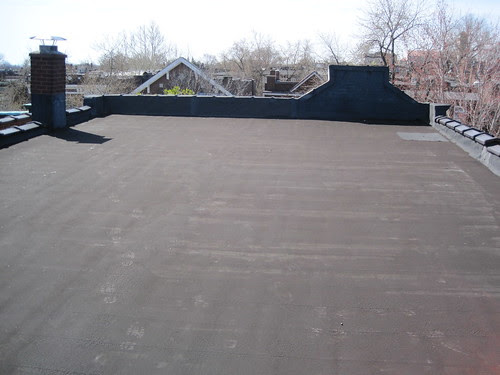 Ecology Of Absence White Roof Coating Ahead Of Summer