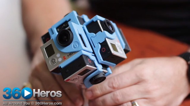 The 360Hero Cameras Are All Shades of Mind Blowing 360° Awesome