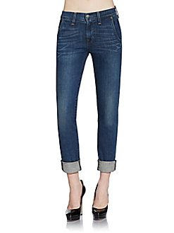 Textile Elizabeth and James Iggy Cuffed Skinny Jeans
