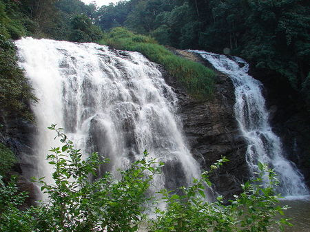 Abby Falls, India waterfall