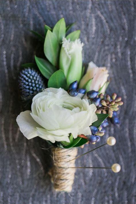 17 Best ideas about Blue Boutonniere on Pinterest   Groom