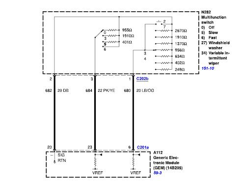 27 Wiper Motor Wiring Diagram Ford - Wiring Diagram List ford wiper switch wiring diagram Wiring Diagram List