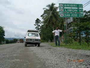 Entrada a Costa Rica