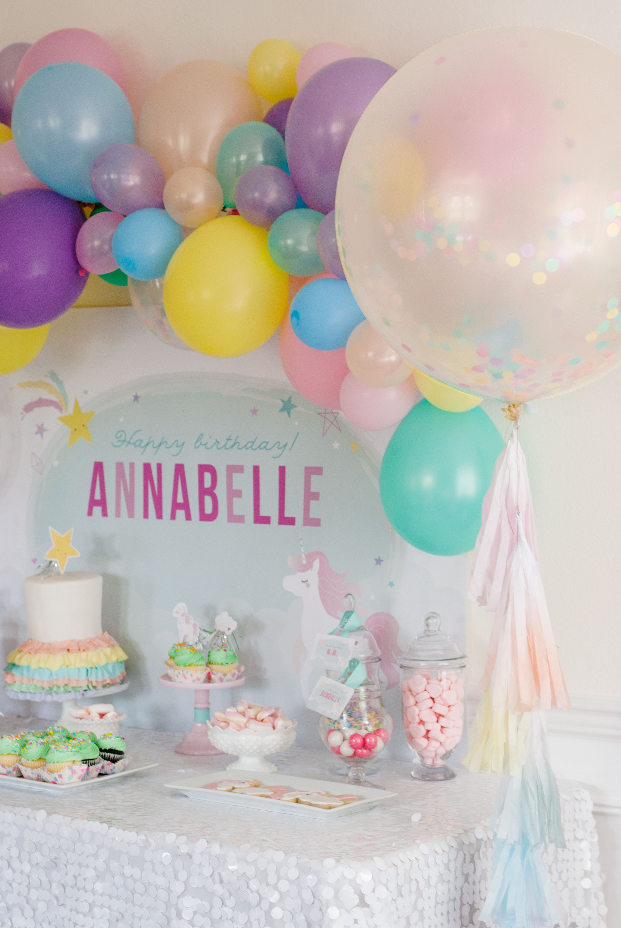 Magical Unicorn Birthday Party Project Nursery