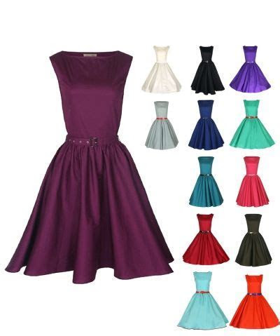 Classic vintage 1950s style bridesmaid dresses with