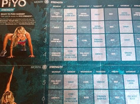 chic vitality piyo  month review