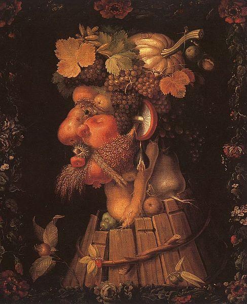 G. Arcimboldo, Outono, 1573