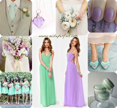 18 best Mint Green & Lilac Wedding Ideas images on