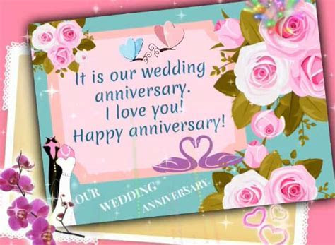 Our Wedding Anniversary. Free Happy Anniversary eCards