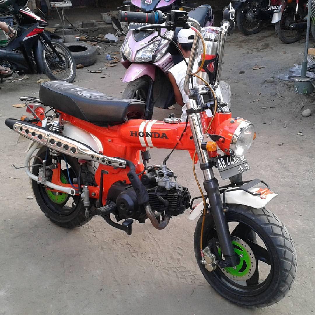 Modifikasi Motor Honda Monkey Kumpulan Modifikasi Motor Scoopy Terbaru