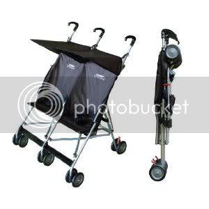 Baby Jogger City Mini Double Graco Twin Double Umbrella