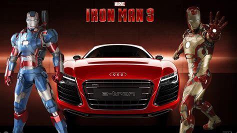 Iron man audi marvel comics 3 e tron wallpaper   (34364)