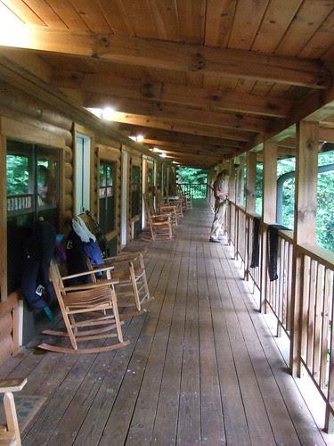 Nantahala Inn porch