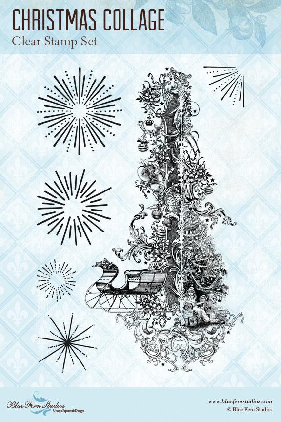 Stamp - Christmas Collage