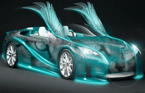 neoncars  wallpaper neon car wings