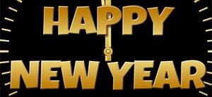 Geschäftliche Neujahrswünsche