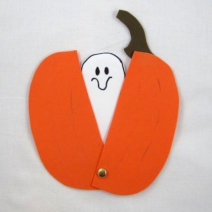 Crafty Journal - Peek A Boo Ghost