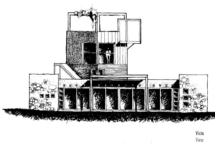 Casa miguel angel roca 1 etapa tecno haus - Arquitectura miguel angel ...
