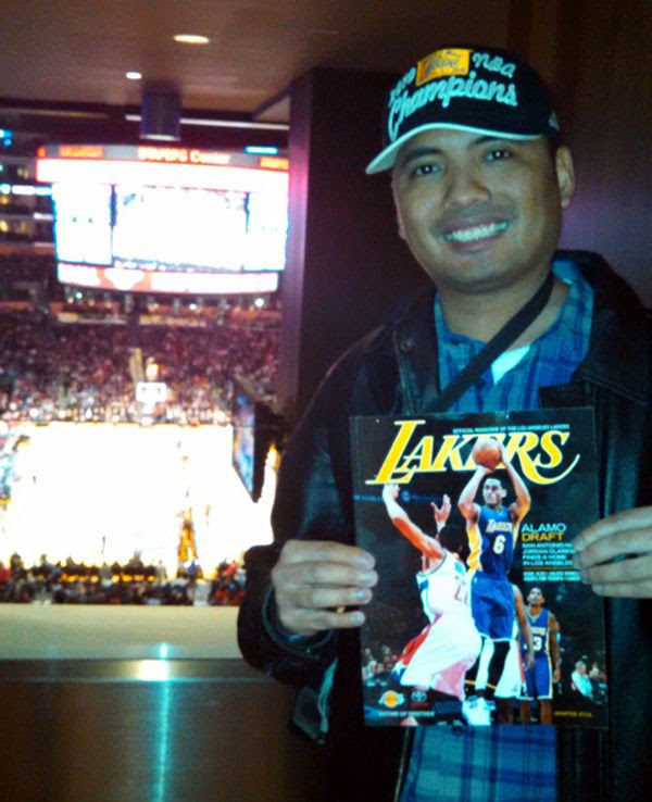 I had fun during this game...despite the fact the Lakers lost to the Bulls, 114-91, at STAPLES Center on January 28, 2016.