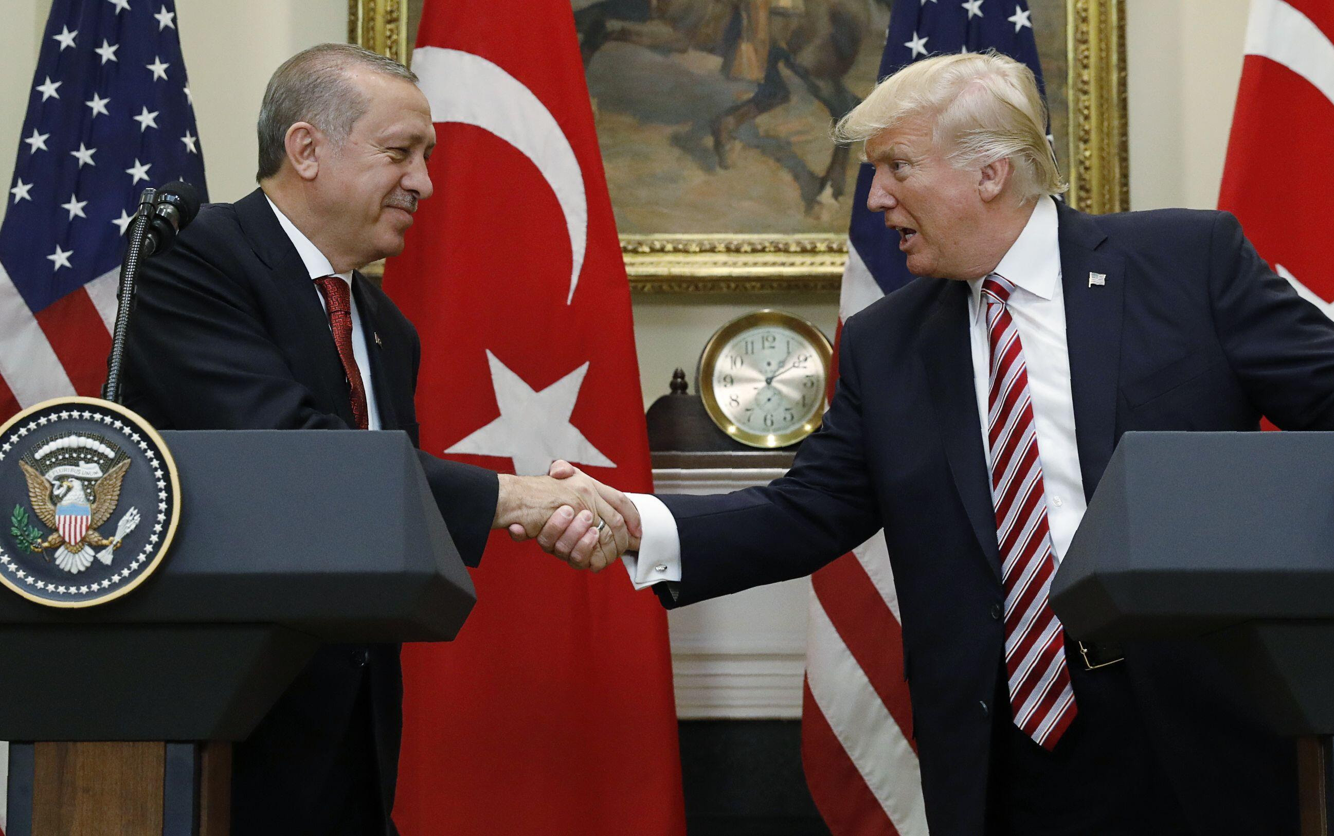 Resultado de imagem para erdogan trump