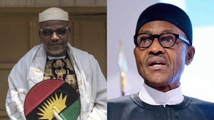 Buhari Explains IPOB's mission