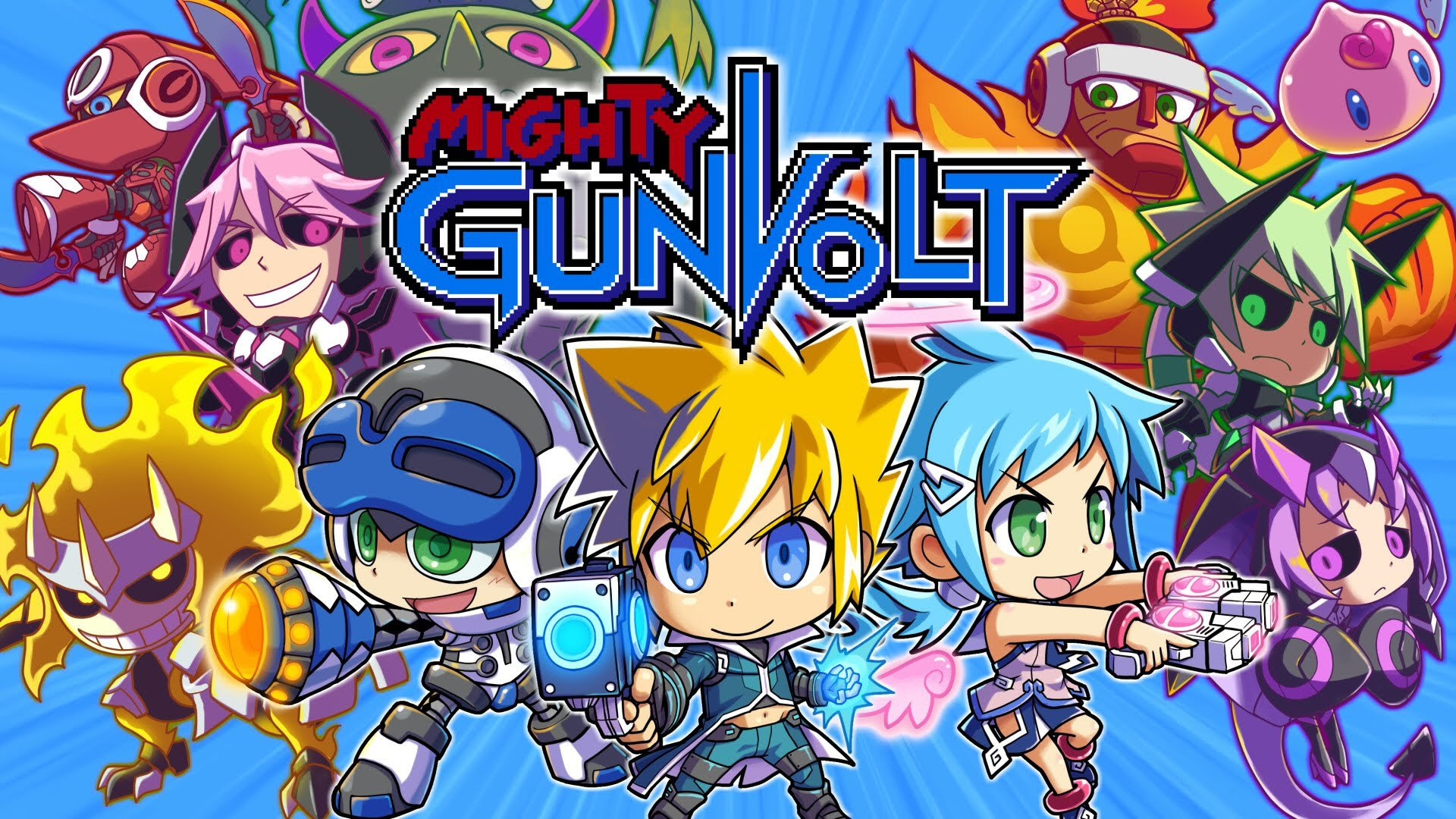 Mighty Gunvolt Burst announced for Switch and 3DS screenshot