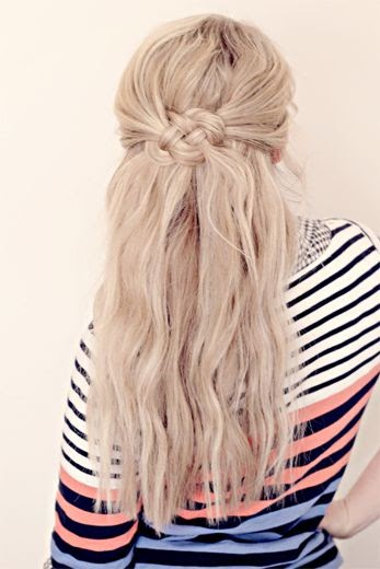 New Hair Styles for Girls: Celtic Knot Hair Tutorial.
