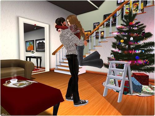 Style - Click - Christmas, Jump kiss!